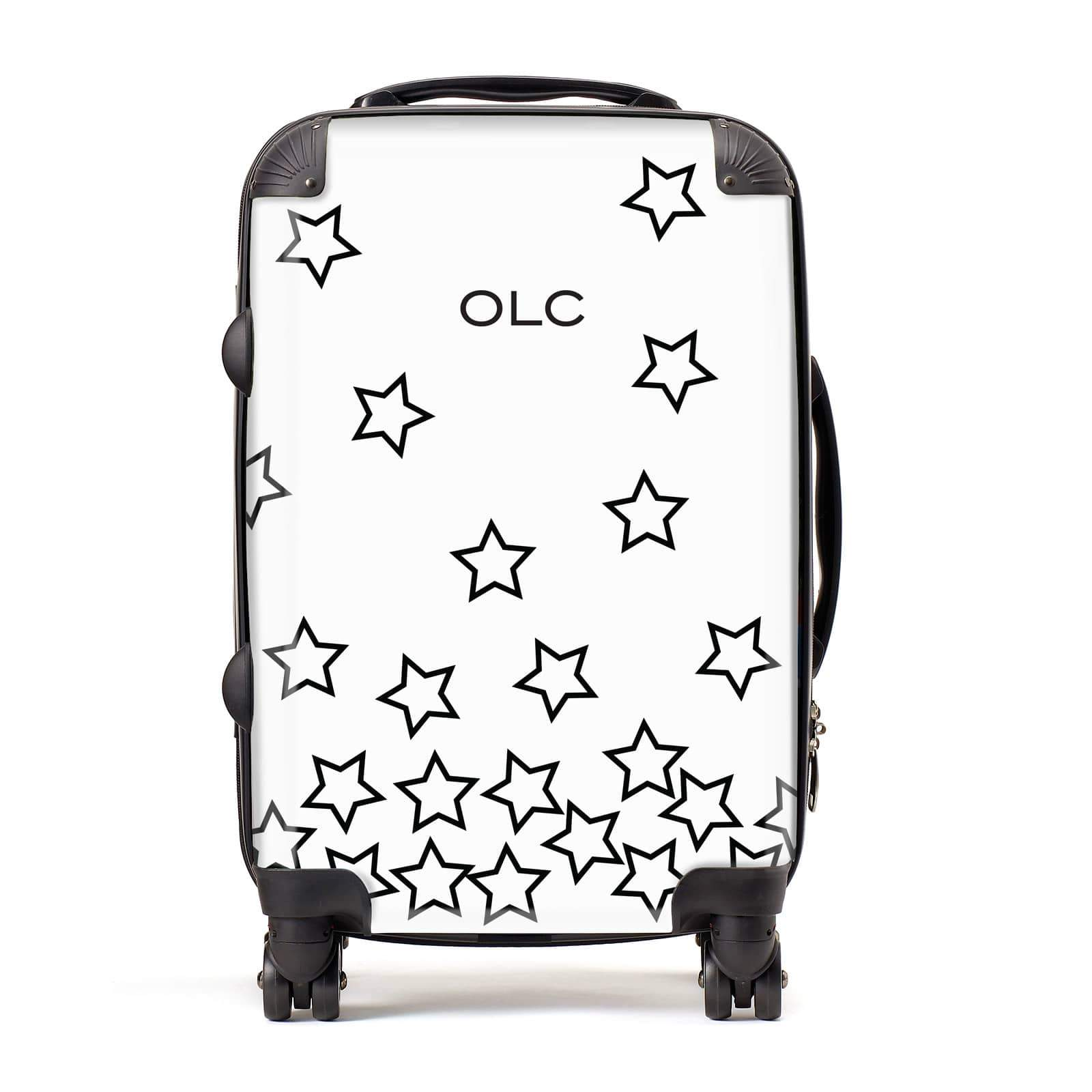 Custom Personalised Initials Suitcase