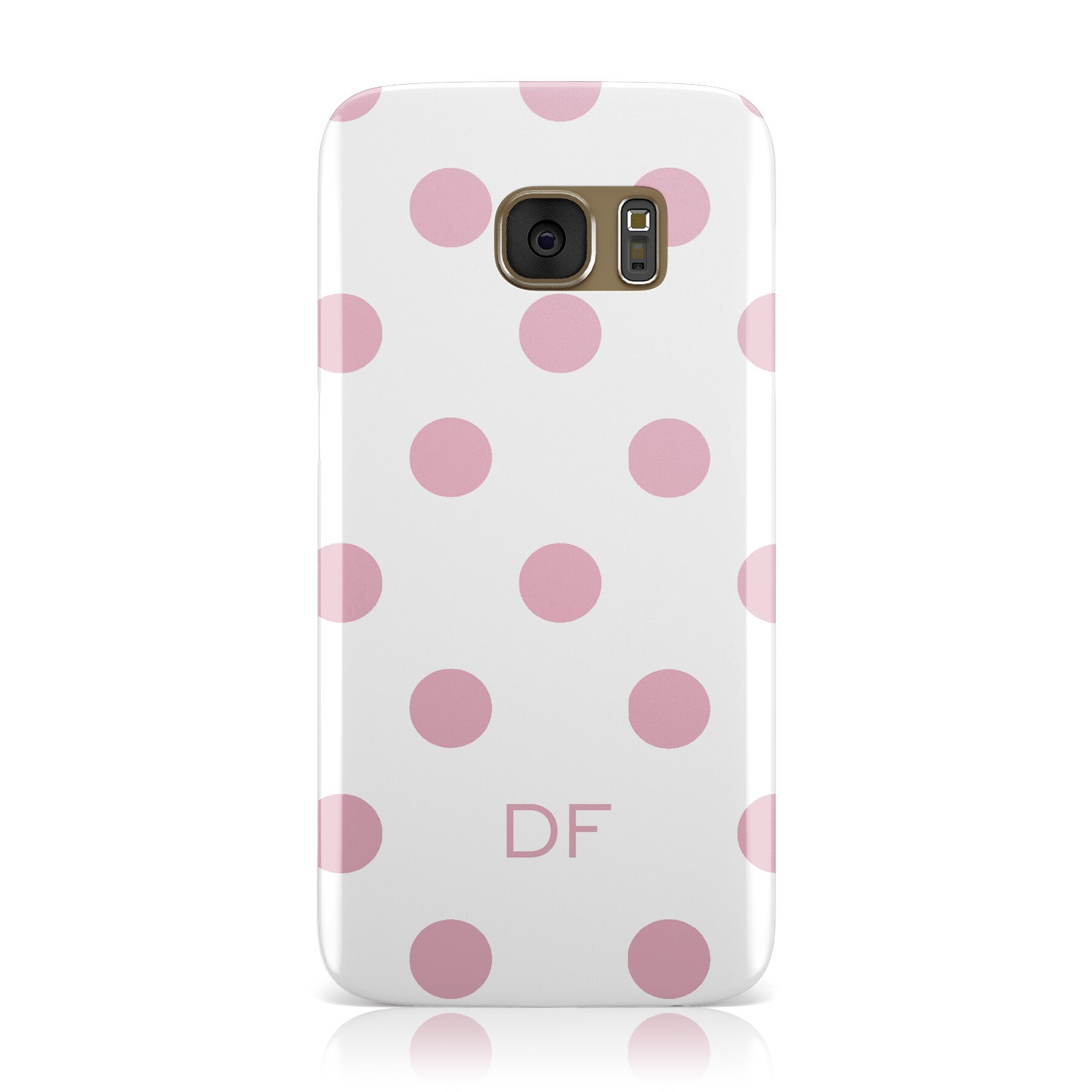 Dots Initials Personalised Samsung Galaxy Case