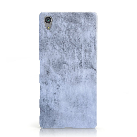 Faux Marble Dark Grey Sony Xperia Case