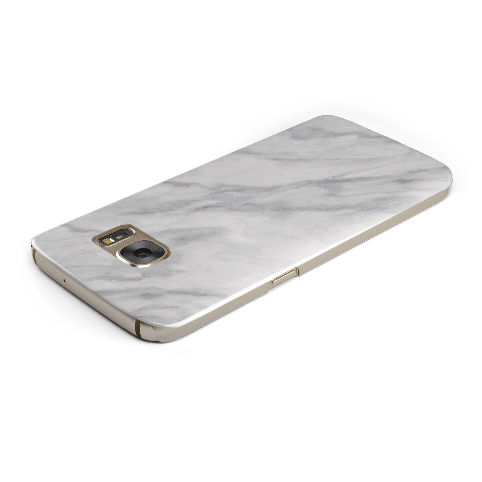 Faux Marble Effect Italian Samsung Galaxy Case Top Cutout