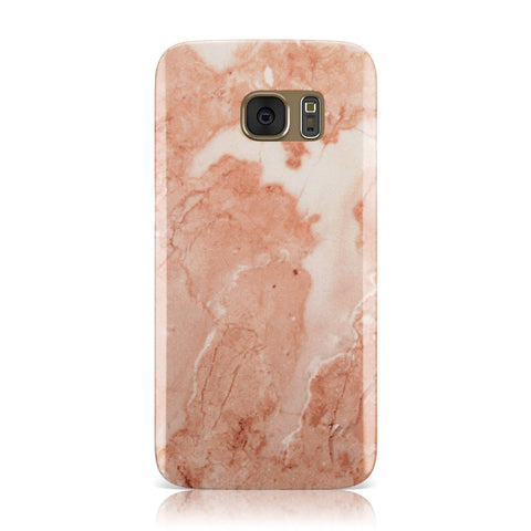 Faux Marble Red Samsung Galaxy Case