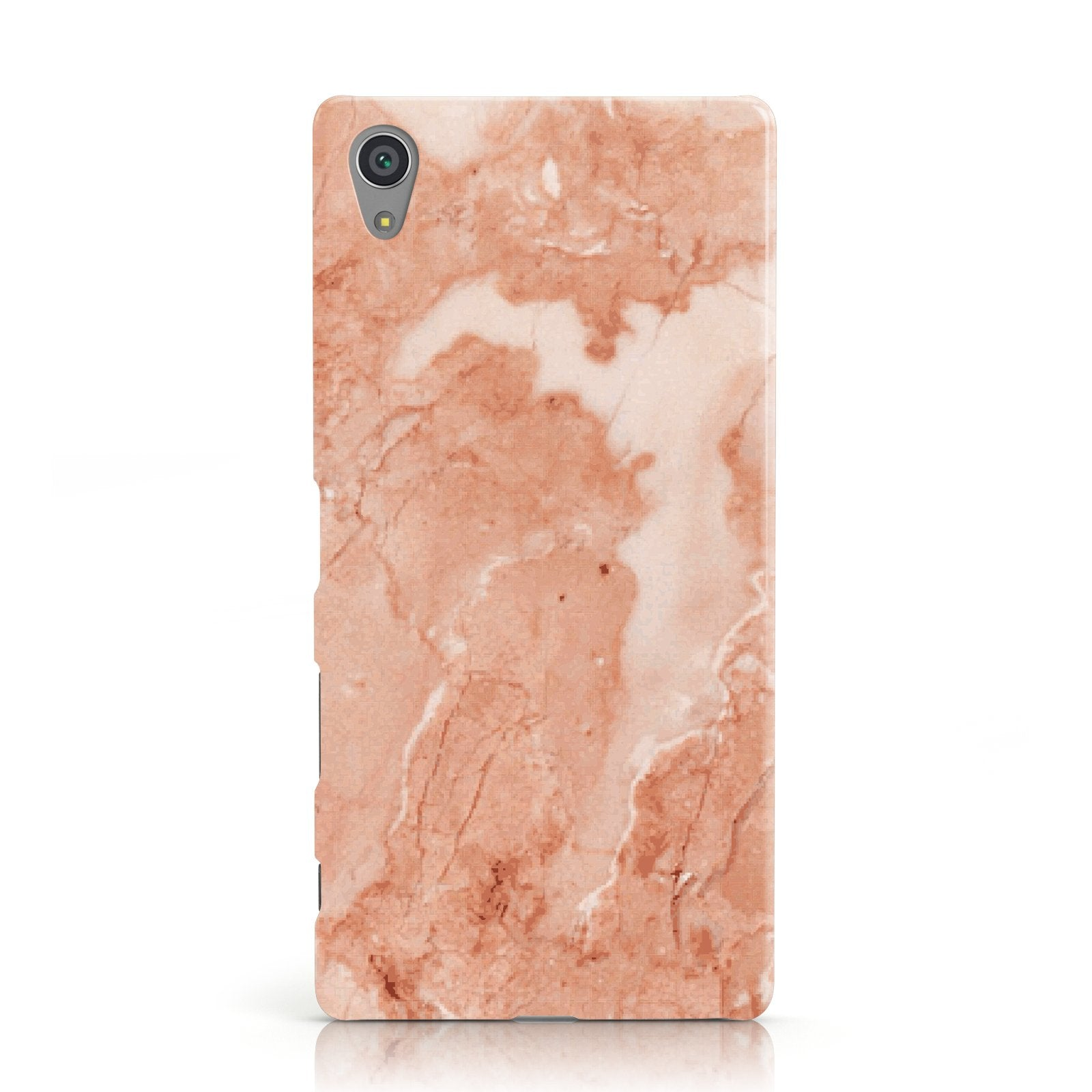 Faux Marble Red Sony Xperia Case