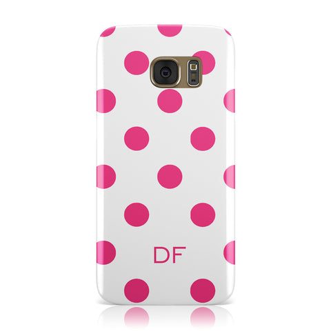 Initial Dots Personalised Samsung Galaxy Case