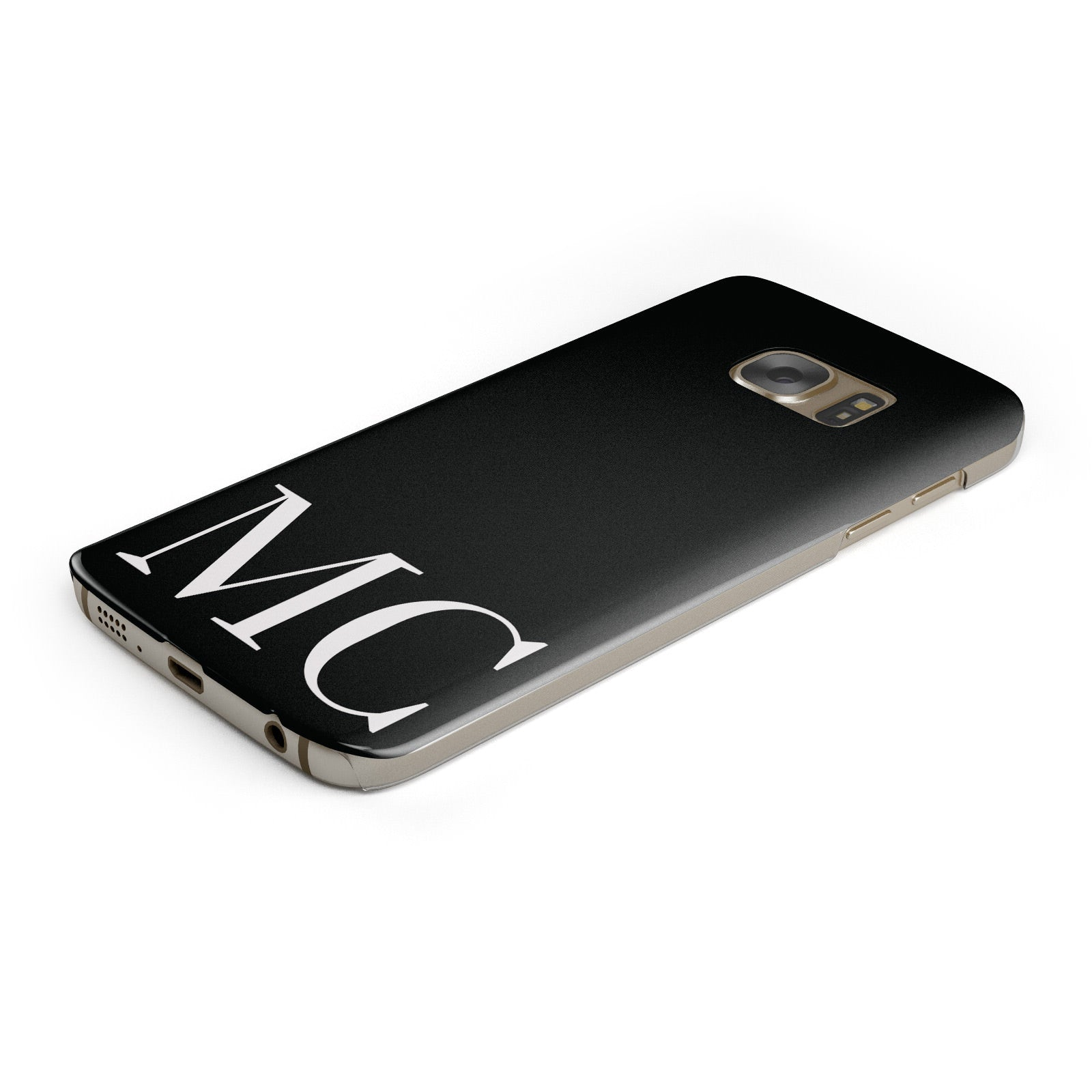 Initials Personalised 1 Samsung Galaxy Case Bottom Cutout