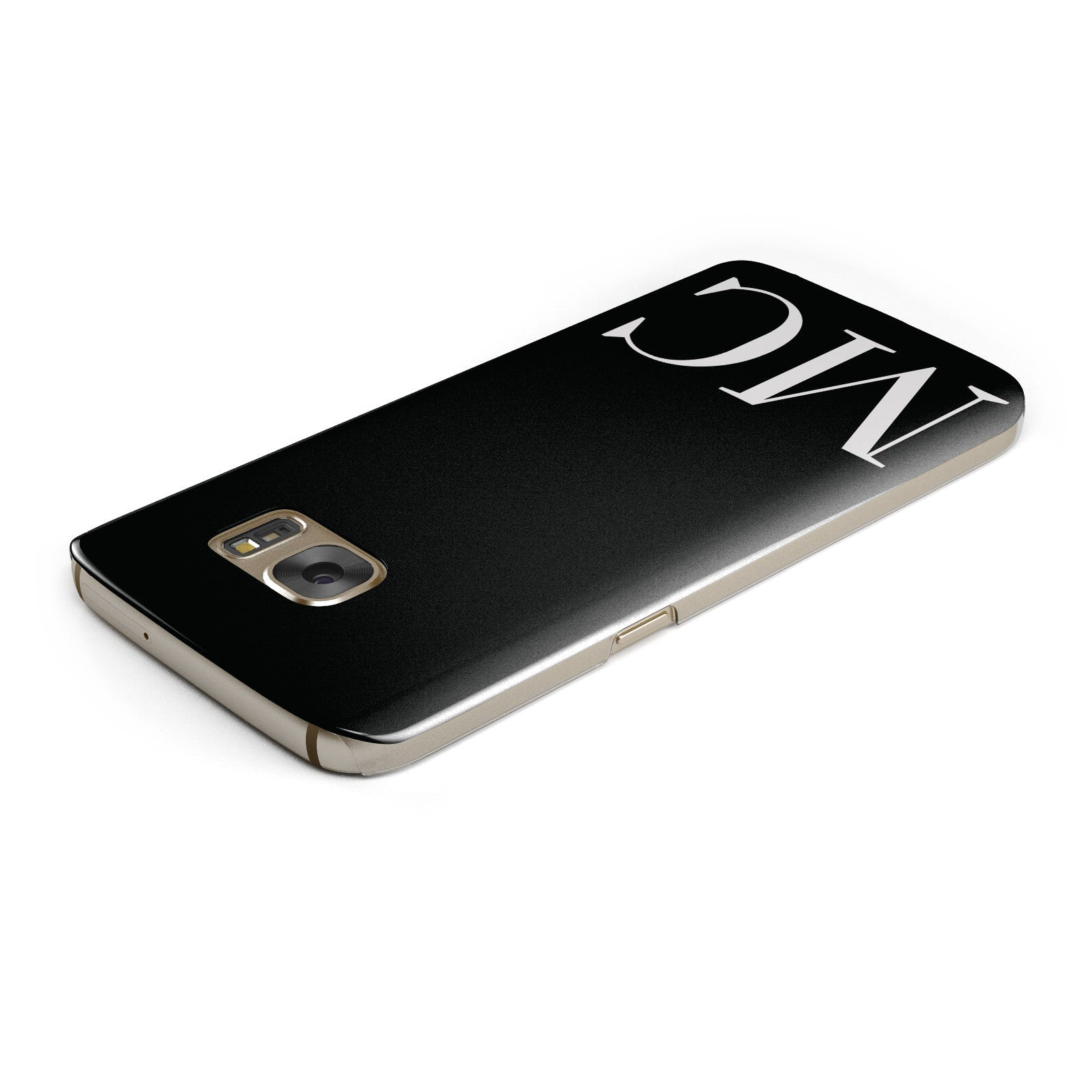 Initials Personalised 1 Samsung Galaxy Case Top Cutout