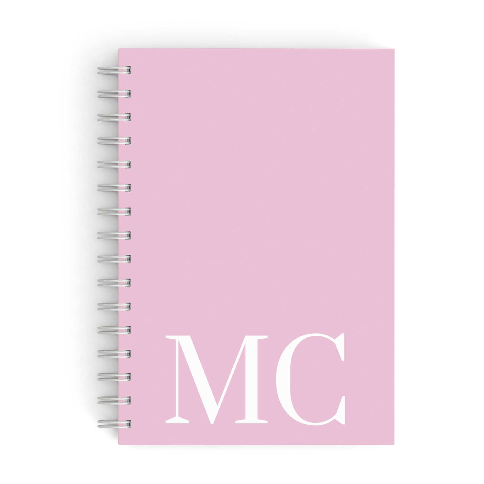 Initials Personalised 2 A5 Hardcover Notebook