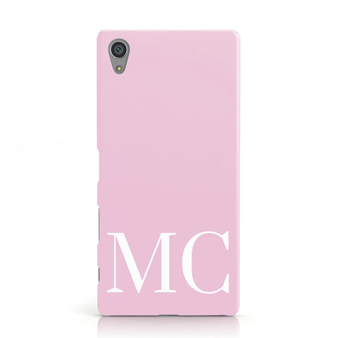 Initials Personalised 2 Sony Xperia Case