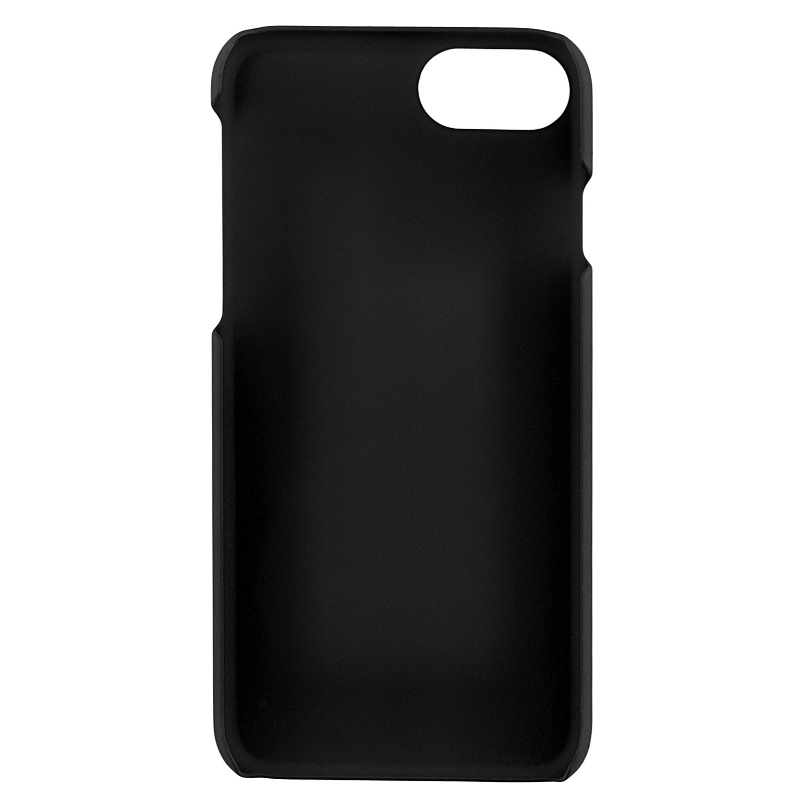 Personalised Black Croc Leather iPhone Case