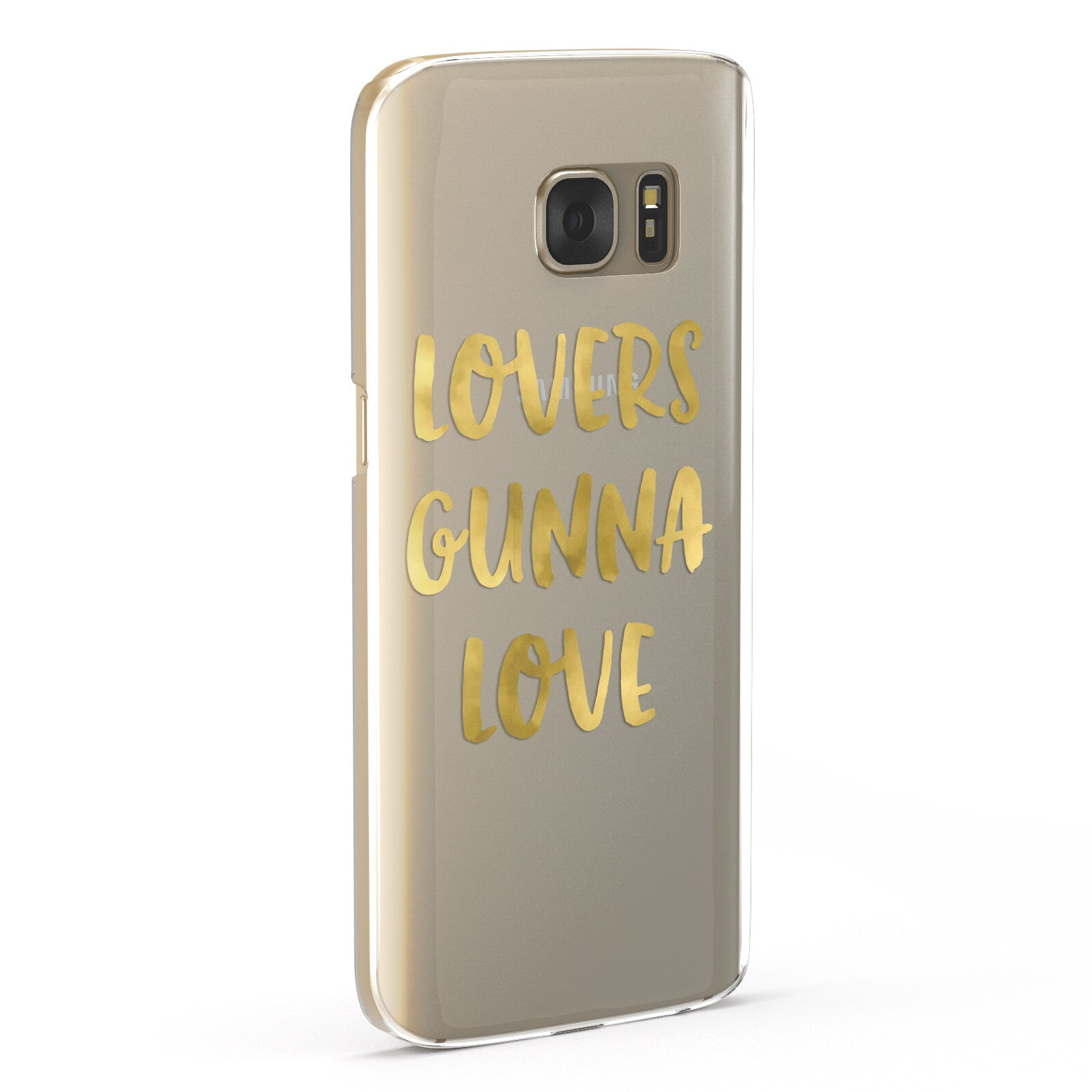 Lovers Gunna Love Real Gold Foil Samsung Galaxy Case Fourty Five Degrees