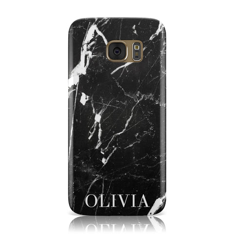 Marble Name Personalised Samsung Galaxy Case