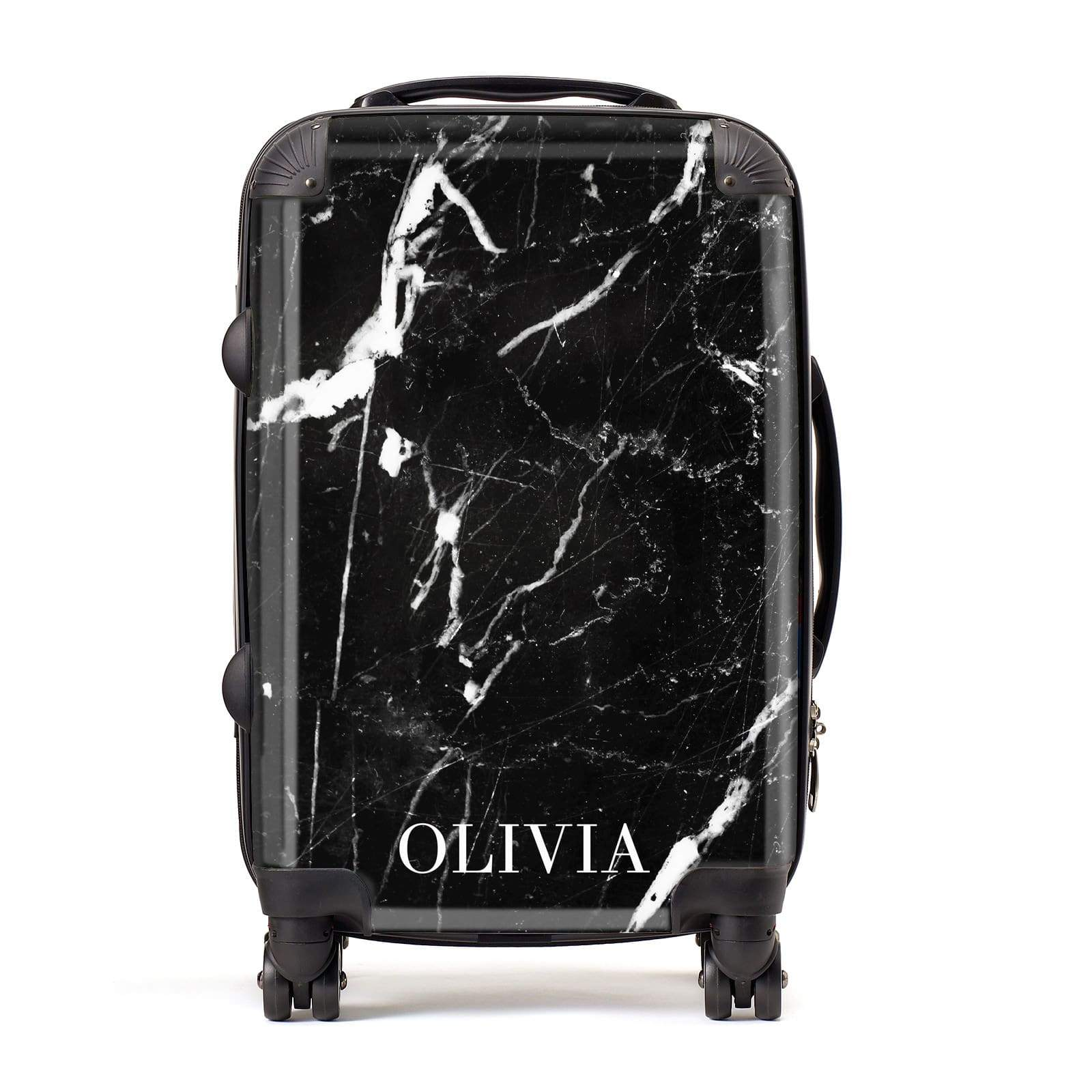 Marble Name Personalised Suitcase
