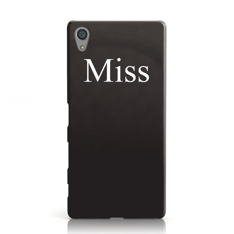 Non Personalised Miss Sony Xperia Case