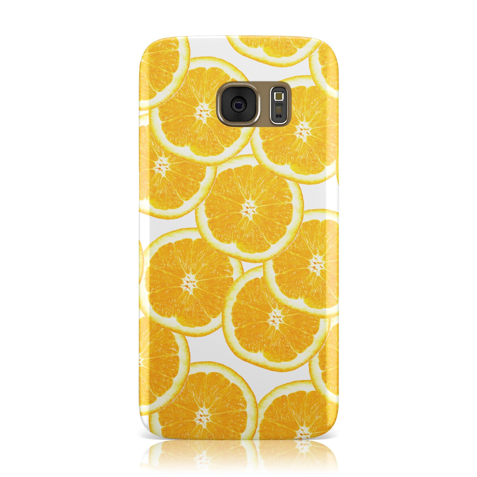 Orange Fruit Slices Samsung Galaxy Case