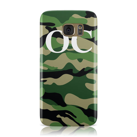 Personalised Camouflage Samsung Galaxy Case