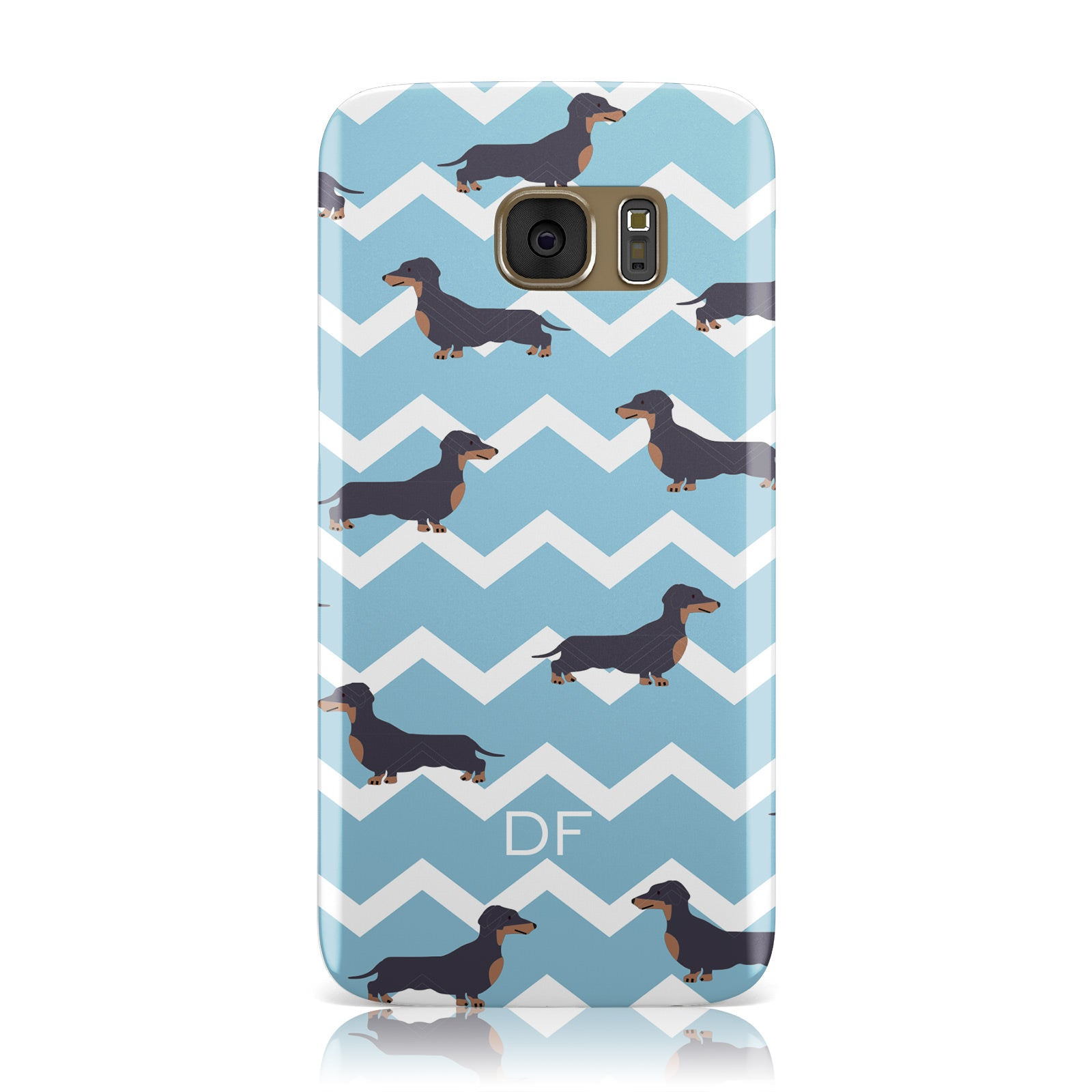 Personalised Dachshund Samsung Galaxy Case