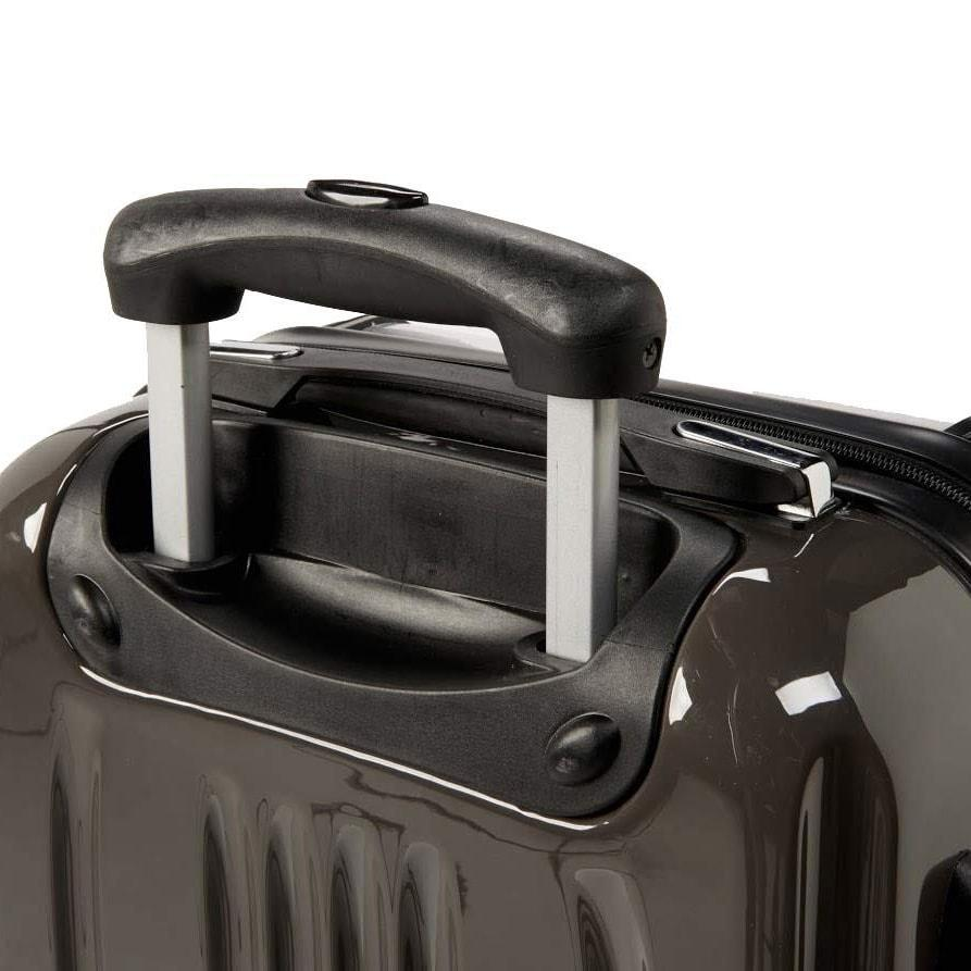 Personalised Luggage Handle close up