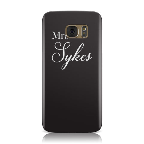 Personalised Mrs Or Mr Bride Samsung Galaxy Case