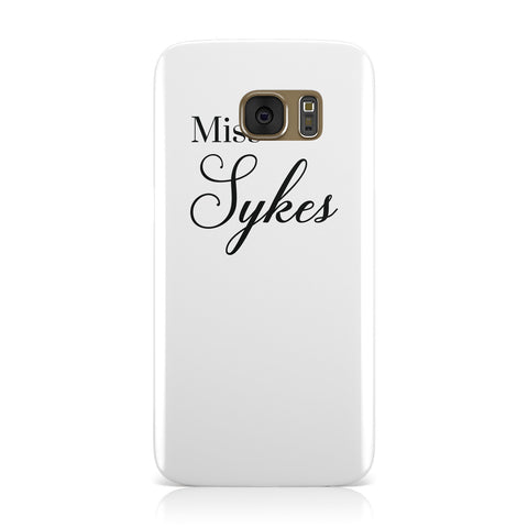 Personalised Wedding Name Miss Samsung Galaxy Case