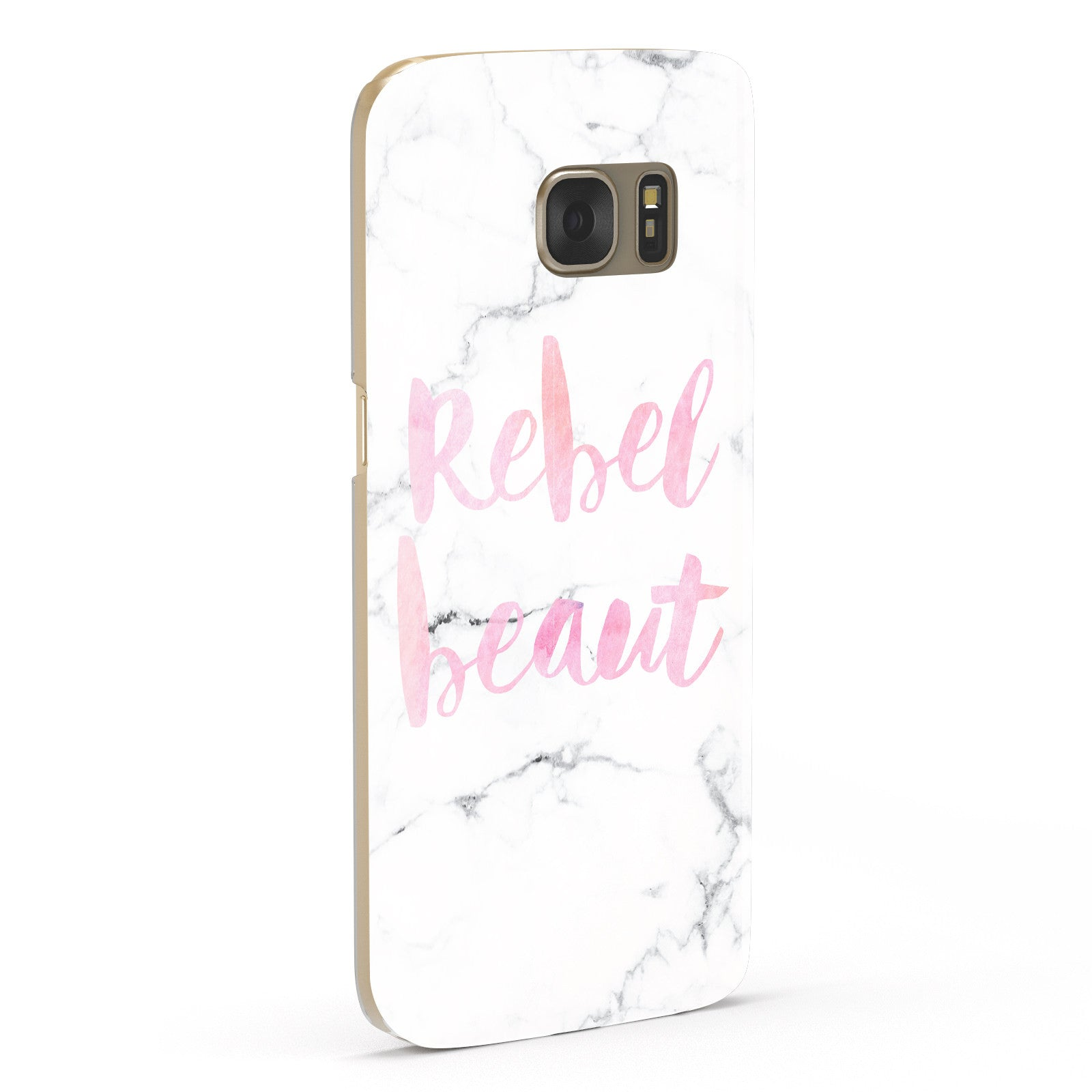 Rebel Heart Grey Marble Effect Samsung Galaxy Case Fourty Five Degrees