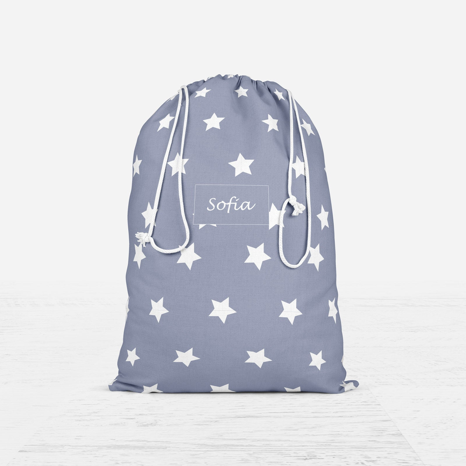 PERSONALISED STAR CHRISTMAS SACK