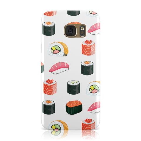 Sushi Pattern 1 Samsung Galaxy Case