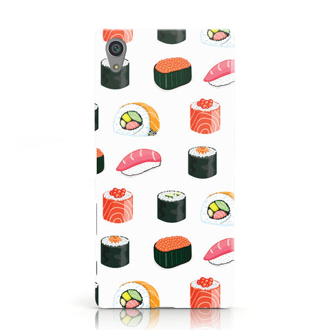 Sushi Pattern 1 Sony Xperia Case