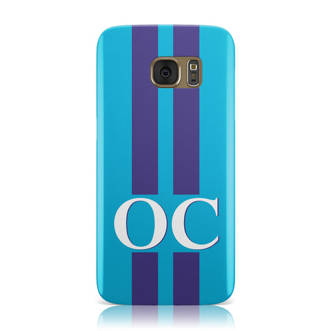 Turquoise Personalised Samsung Galaxy Case