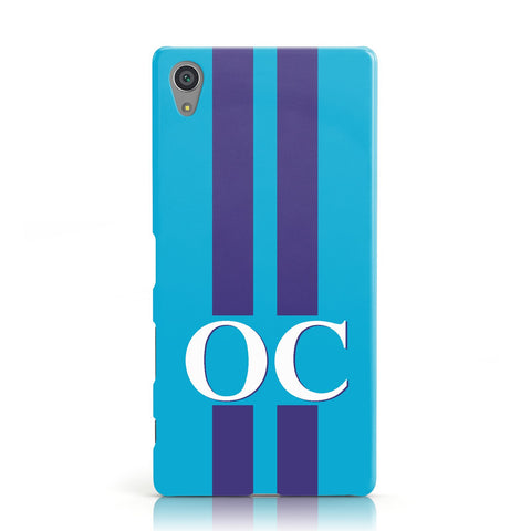 Turquoise Personalised Sony Xperia Case