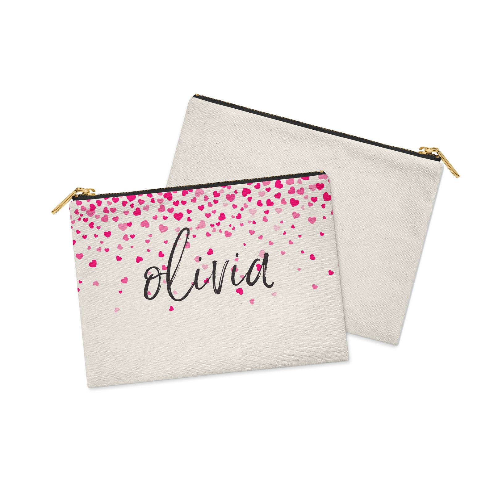 Valentine's Personalised Make-up bag