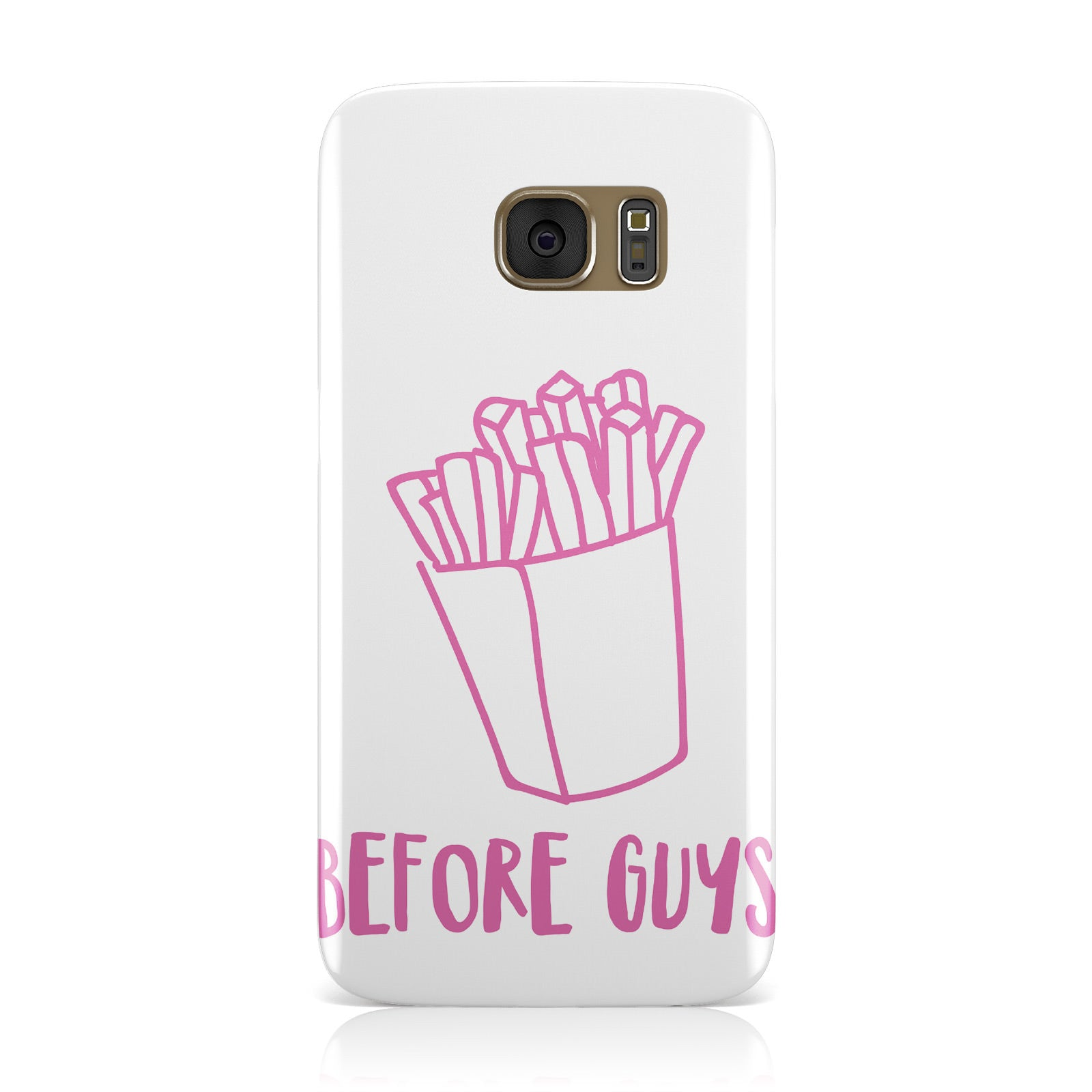 Valentines Fries Before Guys Samsung Galaxy Case