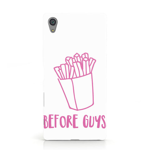 Valentines Fries Before Guys Sony Xperia Case