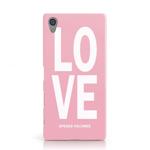 Valentines Love Speaks Volumes Sony Xperia Case