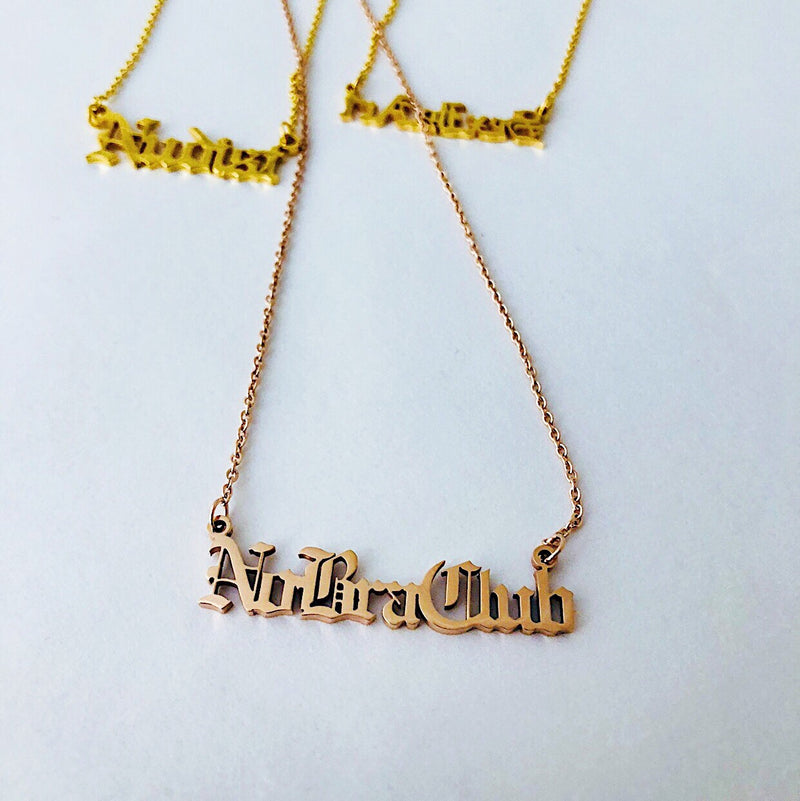 NO BRA CLUB | Necklace