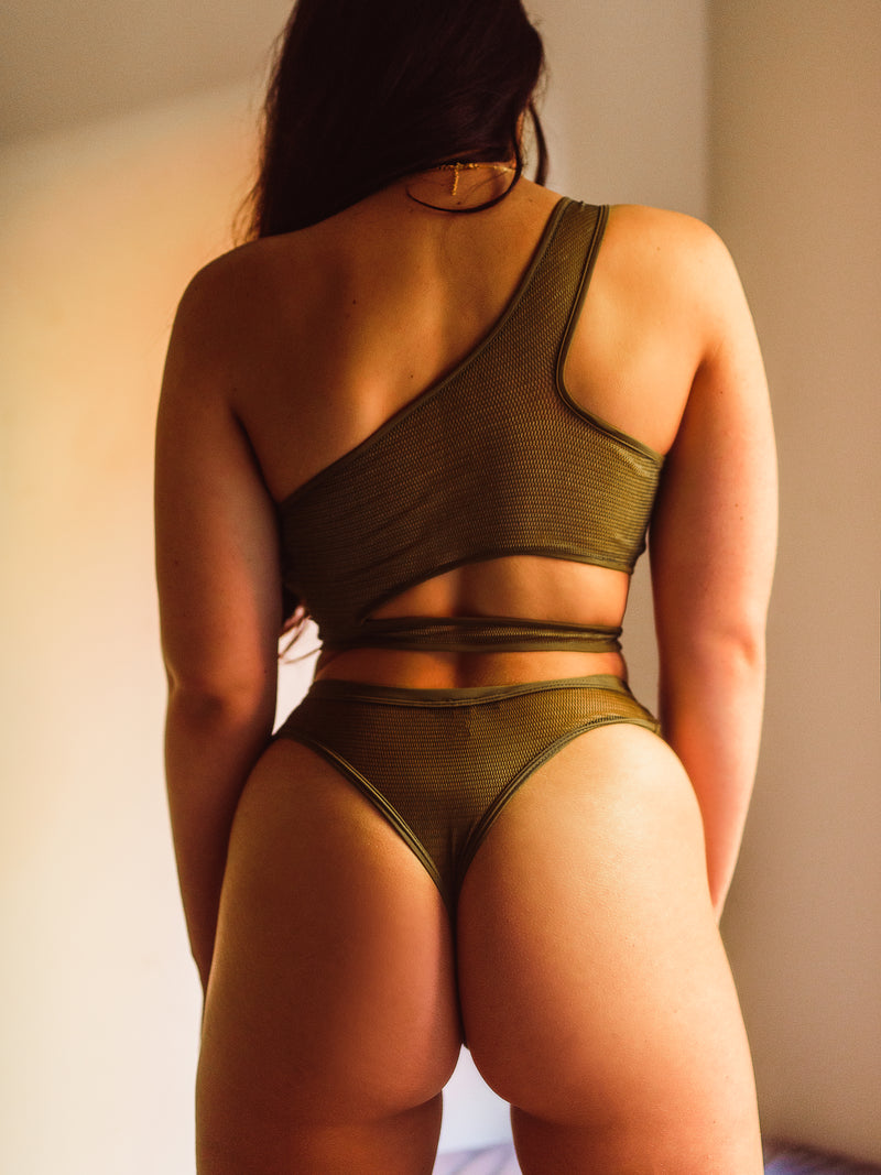 MADE TO MESH LIMITED EDITION SALE | Khaki Knickers