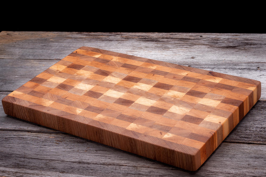End Grain vs edge grain in a cutting board