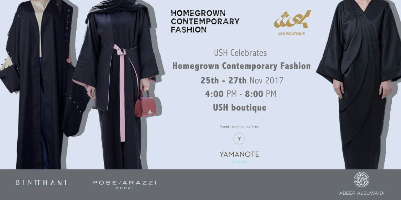 Homegrown Contemporary Fashion