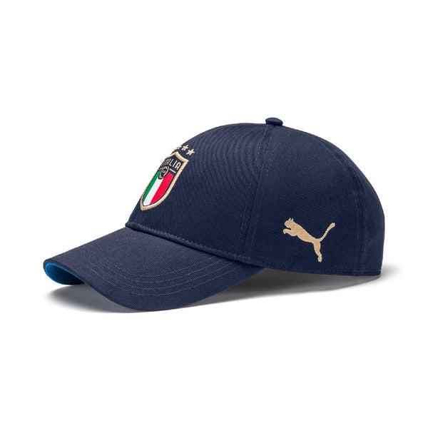 PUMA ITALIA 20 TEAM CAP PEACOAT/POWER BLUE