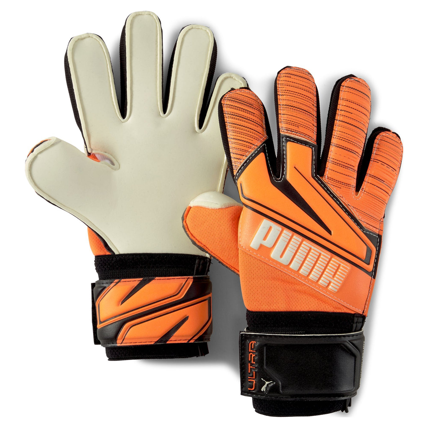 PUMA JR ULTRA GRIP 1 RC SHOCKING ORANGE