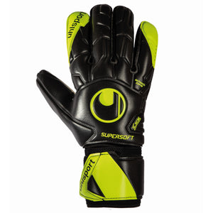 UHL SUPERSOFT HN FLEX FRAME BLACK/FLUO YELLOW