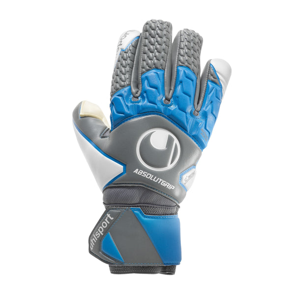 UHL ABSOLUTGRIP TIGHT HN ANTHRACITE/CYAN/WHITE