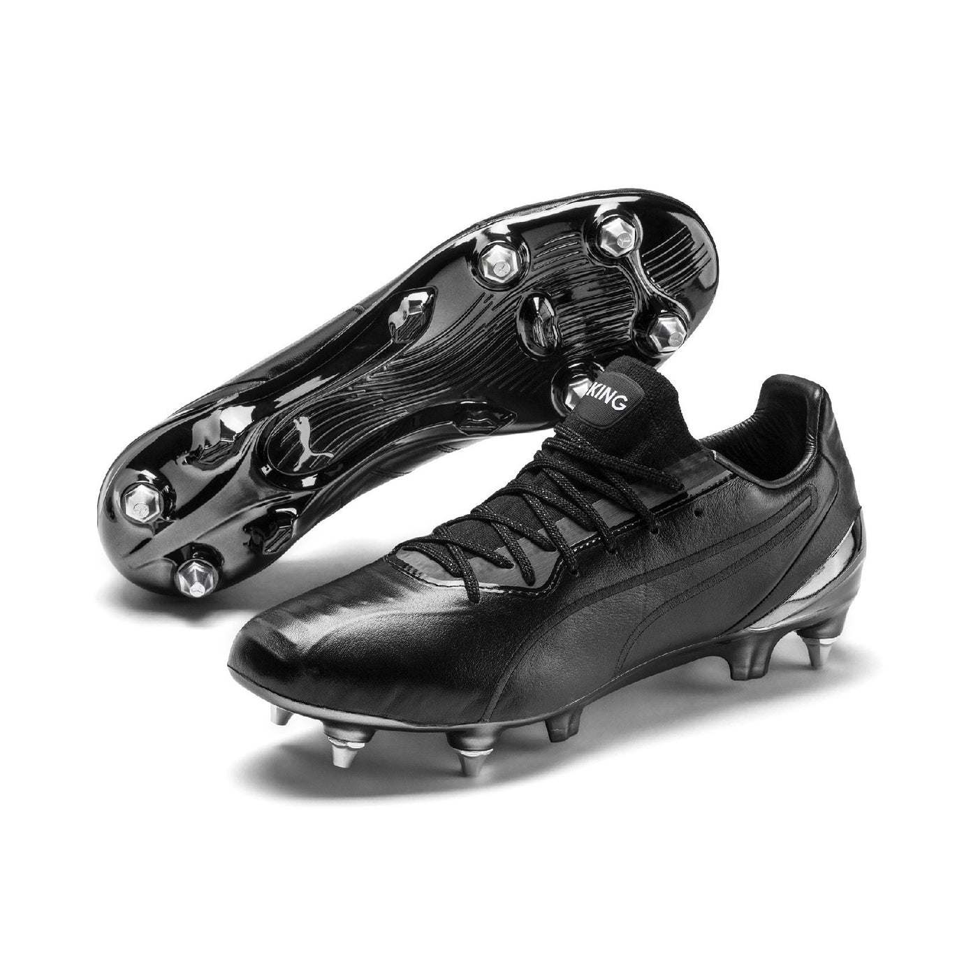 PUMA KING PLATINUM SG BLACK/BLACK/WHITE