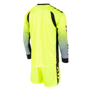 HUMMEL JR FREIBURG KEEPER SET LIME/BLACK