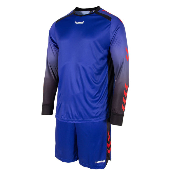 HUMMEL JR FREIBURG KEEPER SET BLUE/RED/BLACK