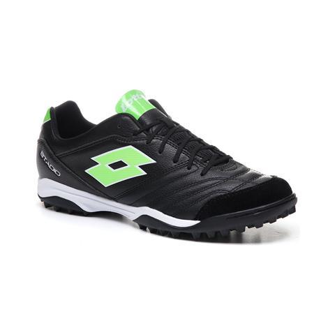 LOTTO STADIO 300 TF BLACK/GREEN