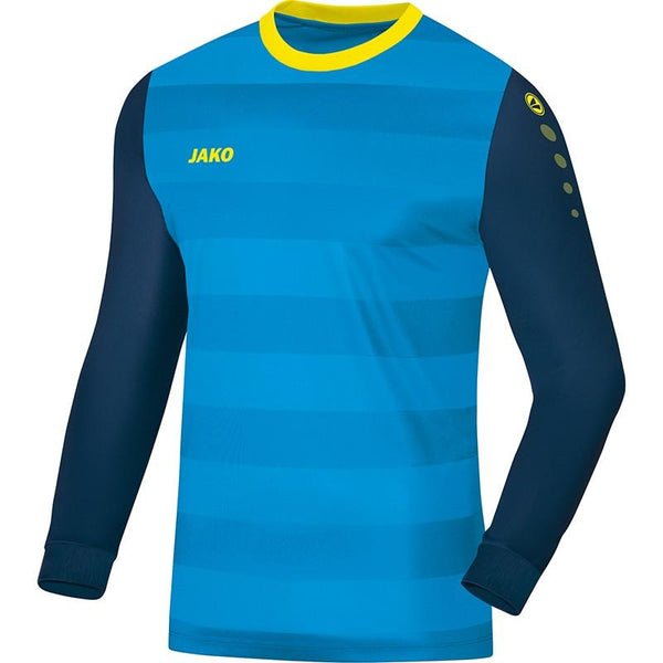 JAKO JR LEEDS GK SHIRT BLUE/NAVY/yllw