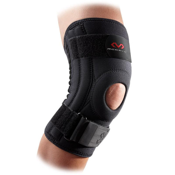 MC DAVID 421R PATELLA KNEE SUPPORT BLACK