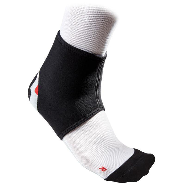 MC DAVID 431R ANKLE SUPPORT BLACK/SCARLET