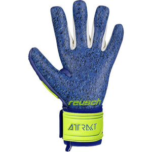 REUSCH ATTRAKT FREEGEL G3 FUSION YELLOW/BLUE LTD EDITION