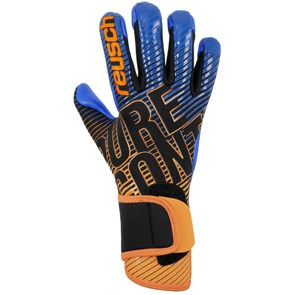 REUSCH JR PURE CONTACT III S1 BLACK/SHOCKING ORANGE/BLUE