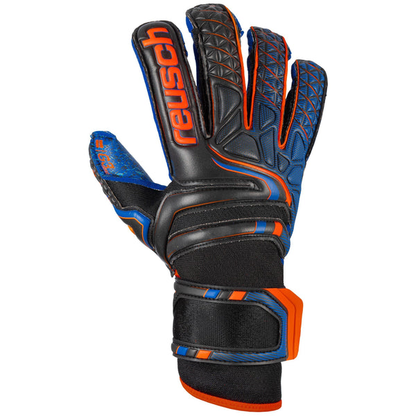 REUSCH ATTRAKT G3 FUSION EVOLUTION GUARD BLACK/DEEP BLUE/ORA